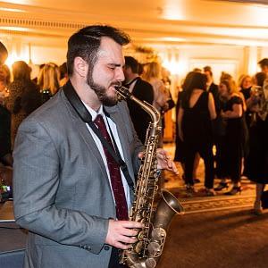 elijah saxophone player