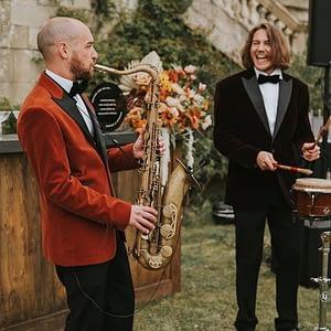 sax player hire