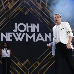 john newman famous singer hire