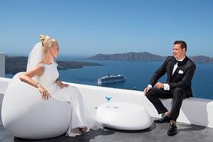 santorini wedding entertainment