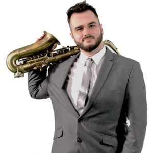 saxophone player hire